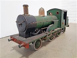 Sale 9134 - Lot 1003 - Vintage 6 inch gauge static model of an early team locomotive of Sydney Interest, ready for conversion to live steam. Built 1930s (h...
