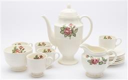 Sale 9099 - Lot 192 - A part Wedgwood coffee service with five cups.