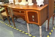 Sale 7987A - Lot 1018 - Mahogany Bow-Front Sideboard