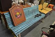 Sale 8159 - Lot 1061 - Timber Outdoor Bench