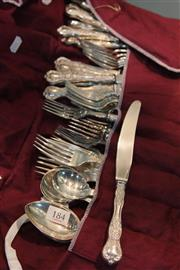 Sale 8360 - Lot 184 - Rodd Silver Plated Canteen of Cutlery