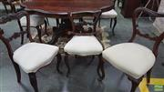 Sale 8375 - Lot 1061 - Set of Six Victorian Rosewood Dining Chairs