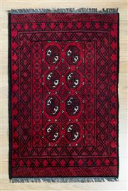 Sale 8585C - Lot 68 - Afghan Turkman 113cm x 76cm