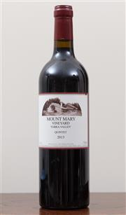 Sale 8868H - Lot 45 - A Mount Mary 2013 Yarra Valley, Quintet in Loving Memory of Marley Middleton