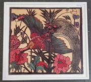 Sale 8973 - Lot 2061 - Margaret Preston Decorative Print, 52 x 56cm (frame)