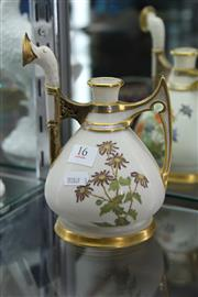 Sale 8086 - Lot 16 - Royal Worcester Watering Can (Restored)
