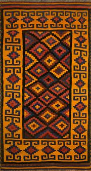 Sale 8321C - Lot 37 - Approx. 30 Years Old Persian Kilim 270cm x 140cm RRP $1300