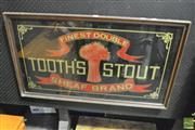 Sale 8350 - Lot 1004 - Tooths Stout Vintage Pub Glass