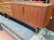 Sale 8607 - Lot 1058 - Good Quality McIntosh Teak Sideboard (H: 78 W: 175 D: 46cm)