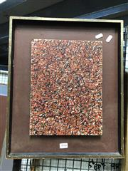Sale 8811 - Lot 2046 - Artist Unknown (possibly David Rankin) Abstract oil on board, unsigned -