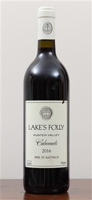 Sale 8868H - Lot 44 - A 2016 Lakes valley Hunter Valley Cabernet
