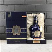 Sale 8970 - Lot 654 - 1x Chivas Brothers Royal Salute - The Hundred Cask Selection Blended Scotch Whisky - limited release no.4, bottle no. 12324/29878,...