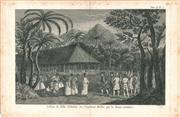 Sale 9037A - Lot 5028 - Artist Unknown - Surrender of the Island of Tahiti to Captain Wallis by Queen Obera copper engraving