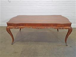 Sale 9174 - Lot 1017 - French-style dining table (204cm)