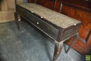 Sale 8326 - Lot 1362 - Lift Top Piano Stool on Cabriole Legs