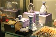 Sale 8360 - Lot 83 - Wedgwood Wares incl Jasper candlesticks & Glass Paperweight