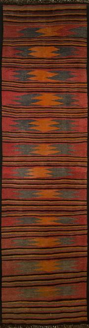 Sale 8406C - Lot 19 - Persian Kilim Runner 265cm x 70cm