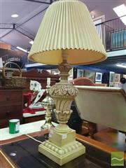 Sale 8495F - Lot 1051 - Composite Form Base Table Lamp