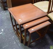 Sale 8550 - Lot 1034 - G-Plan Teak Nest of Tables
