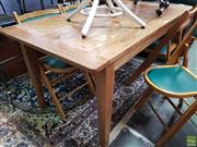 Sale 8589 - Lot 1059 - Recycled Elm Dining Table (76 x 150 x 80cm)