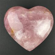 Sale 8567 - Lot 687 - Rose Quartz Heart, Madagascar