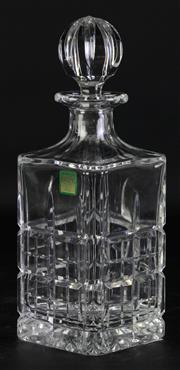 Sale 8994 - Lot 70 - Marquis By Waterford Cut Crystal Decanter and Stopper (H25cm)