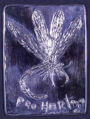 Sale 9061A - Lot 5024 - Kevin Charles (Pro) Hart (1928 - 2006) - Dragonfly 11 x 8.5 cm