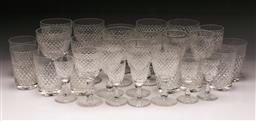 Sale 9098 - Lot 313 - Large Suite of Scottish Glassware (some chips)