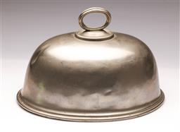 Sale 9098 - Lot 74 - A Late 19th Century James Dixon and Sons EPNS Meat Dome , W:35cm