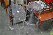 Sale 8251 - Lot 1071 - Pair of Replica Ghost Stools