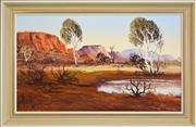 Sale 8325A - Lot 13 - Henk Guth (1921 - ) - Donnell Ranges 29.5 x 50cm