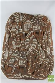 Sale 8512 - Lot 27 - Carved New Guinea Panel