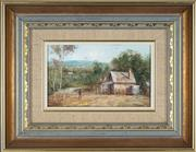 Sale 8779 - Lot 2033 - Robert Todanai (1963 - ) - Hunter Valley Homesteads 15 x 24cm