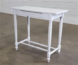 Sale 9188 - Lot 1567 - Painted timber side table (h68 x w76 x d35cm)