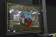 Sale 8350 - Lot 1012 - Early Becks Pub Mirror