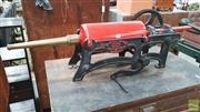 Sale 8395 - Lot 1080 - Vintage Hand Cranked Cast Iron Pump The Advance  by T Williams
