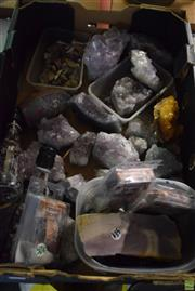 Sale 8563T - Lot 2546 - Tray of Amethyst & Other Stones