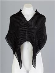 Sale 8661F - Lot 97 - An Issey Miyake Fete pleated avant-garde top