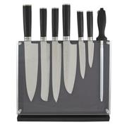 Sale 8795B - Lot 29 - Laguiole Louis Thiers 7-Piece Knife Set with Magnetic Block