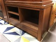 Sale 8863 - Lot 1081 - Timber Entertainment Unit with Two Drawers Below
