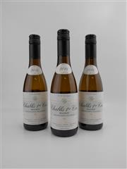 Sale 8514 - Lot 1799 - 3x 2014 Denis Pommier Beauroy, Premier Cru, Chablis - 375ml half-bottles