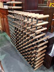 Sale 8740 - Lot 1658 - Collection of Five Various Wine Racks