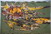 Sale 8801 - Lot 1001 - Rene Fumeron (1921-2004) Abstract Tapestry Wall Hanging, Signed Lower Left (253 x 172cm)