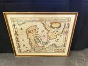Sale 8969 - Lot 2036 - Map Engraving The Kingdome of Denmarke