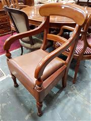 Sale 8728 - Lot 1089 - Late 19th Century Cedar Armchair, with drop-in seat & turned legs