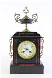 Sale 8877 - Lot 83 - French Style Marble clock