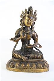 Sale 8897 - Lot 98 - Figure of Guanyin, mark to front, H20cm