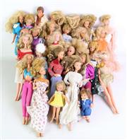 Sale 8926 - Lot 13 - A Collection of 1970s and 80s Barbie Dolls incl Ken