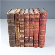 Sale 8379A - Lot 28 - 7 Volumes, works by Charles Dickens various dates, Our Mutual Friend etc.