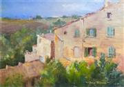 Sale 8563T - Lot 2062 - Joan Prince - Green Shutters, Tuscany, oil on canvas on board, 30 x 40cm, signed lower right